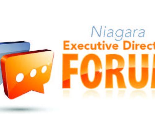 Niagara region Executive Director's Forum