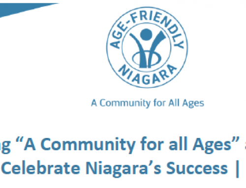 Age-Friendly Community Needs Assessment Research in Niagara, December 2020