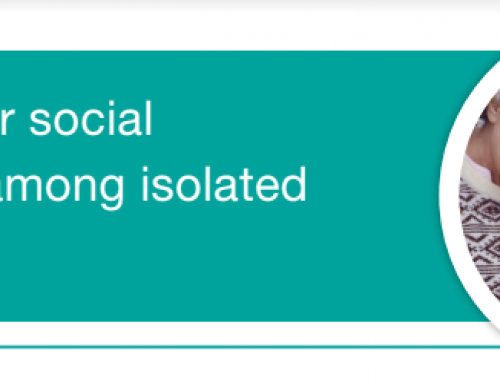 Strategies for Social Connection Among Isolated Older Adults