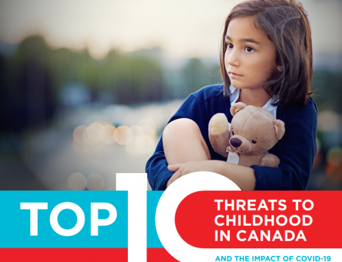 Raising Canada 2020 – Top 10 Threats to Childhood in Canada and the Impact of COVID-19