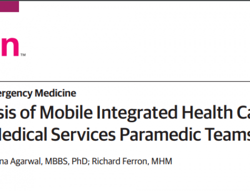 Economic Analysis of Mobile Integrated Health Care Delivered by Emergency Medical Services Paramedic Teams