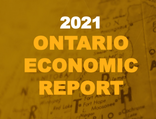 2021 Ontario Economic Report
