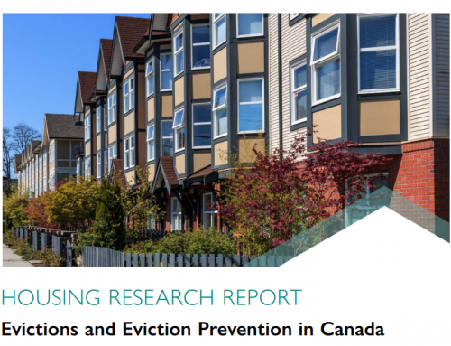 Evictions and Eviction Prevention in Canada