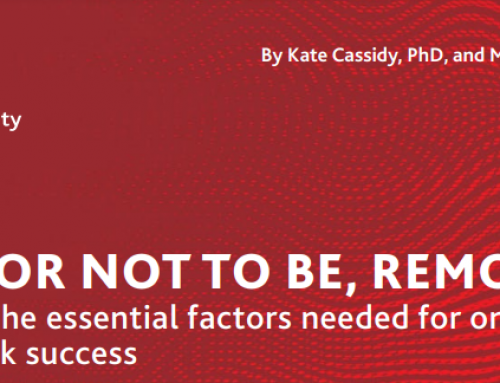 To Be, or Not to Be, Remote? Examining Essential Factors Needed for Ongoing Remote Work Success